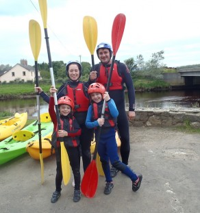 family activity experience carrowmena
