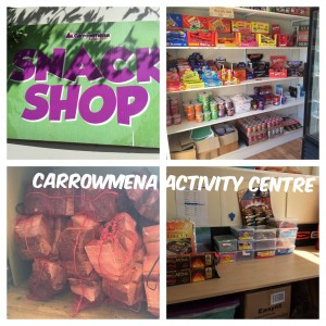 snack shop collage