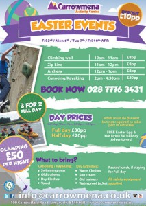 Family events over the Easter break......
