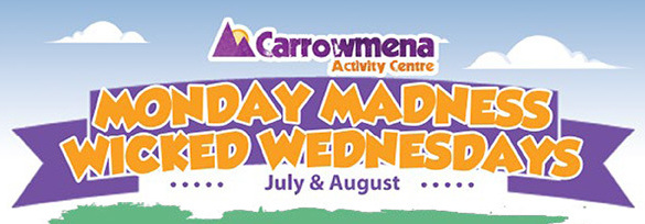 monday madness and wicked wednesday at carrowmena