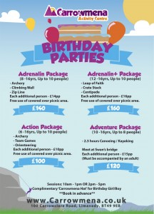 Birthday Party Packages 1 2014 - JPEG