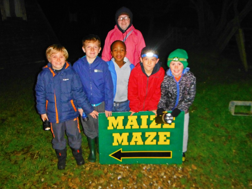 all ages welcome at the maize maze