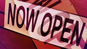 now opened