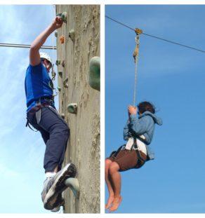 Zip N Climb Experience