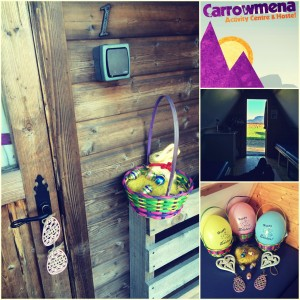 Easter Glamping Collage