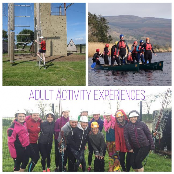 ADULT ACTIVITY EXPERIENCE