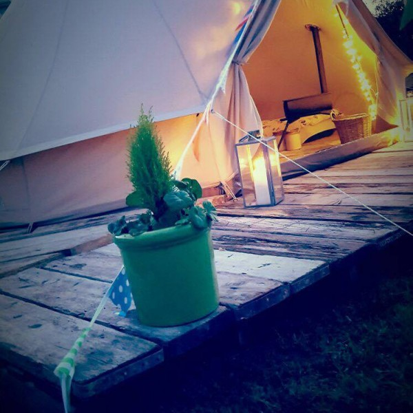 Bell Tent from the side