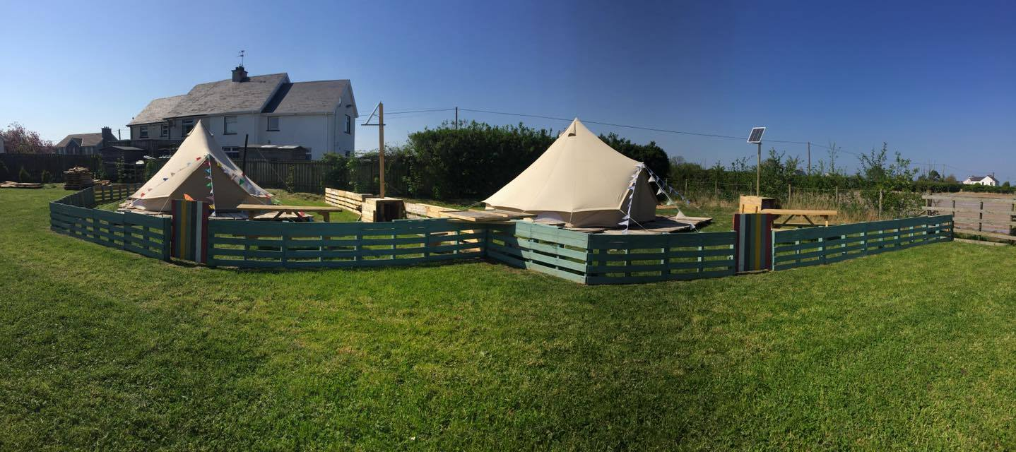 Bell tent pana & Carrowmena - Bell Tents Glamping in Northern Ireland