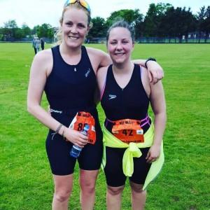 Carla & lottie - Triathlon