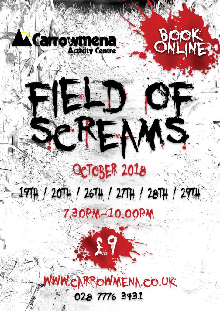 field of screams halloween