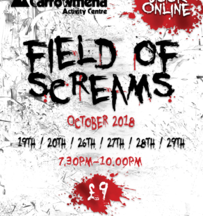 field of screams halloween